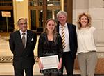 Saxena hoofdpijnprijs winnaar 2018 - Nadine Pelzer